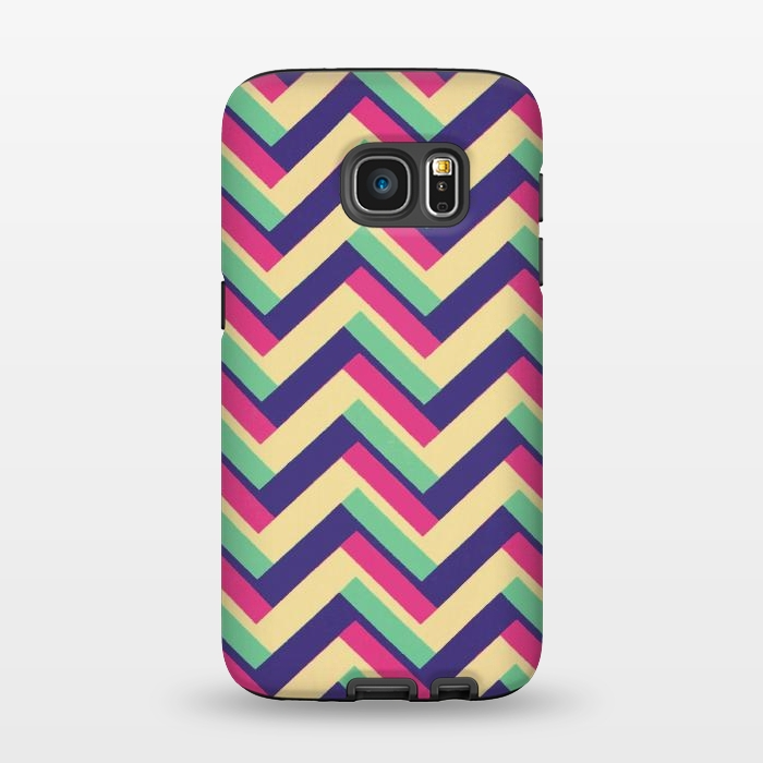 AC1345394, Phone Cases, Galaxy S7, StrongFit, Josie Steinfort , 3D Chevron, Designers,
