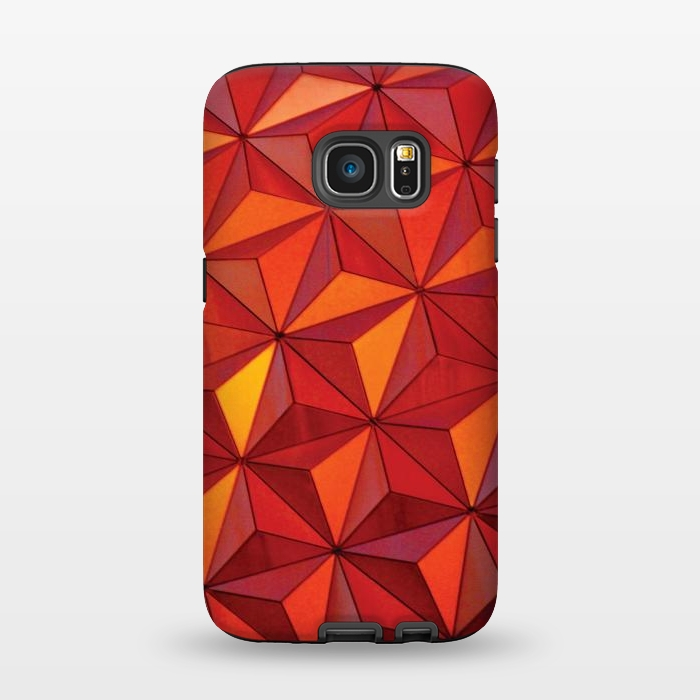 AC1345397, Phone Cases, Galaxy S7, StrongFit, Josie Steinfort , Geometric Epcot, Designers,