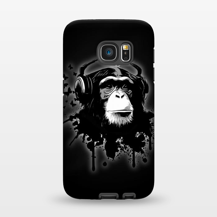 AC1345421, Phone Cases, Galaxy S7, StrongFit, Nicklas Gustafsson, Monkey business Black, Designers,