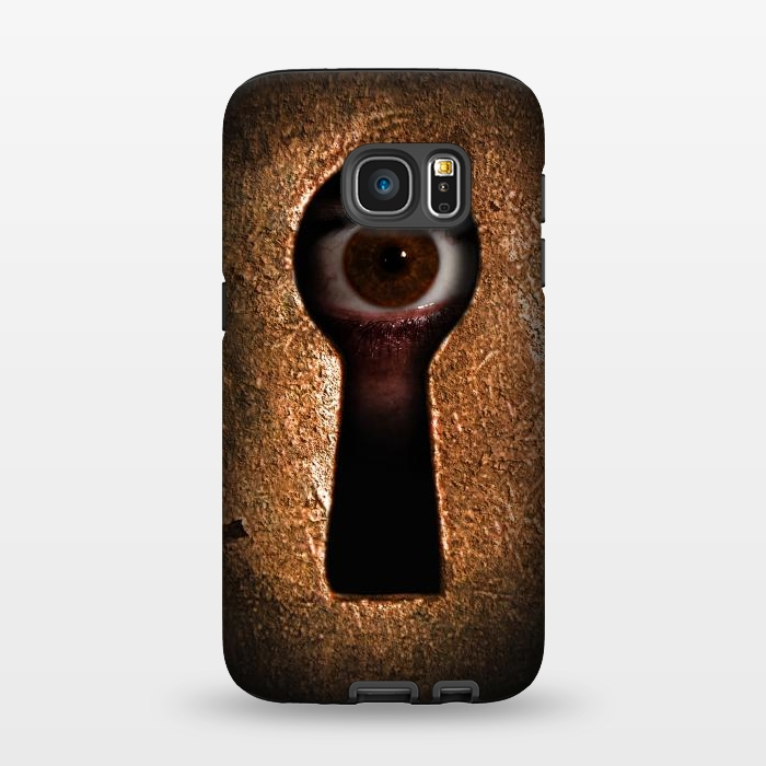 AC1345423, Phone Cases, Galaxy S7, StrongFit, Nicklas Gustafsson, Who is watching you, Designers,
