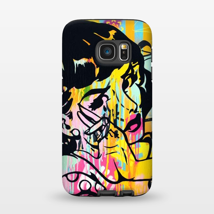 AC1345432, Phone Cases, Galaxy S7, StrongFit, Scott Hynd, Wipe away that tear, Designers,