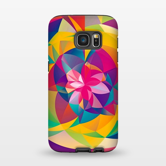 AC1345448, Phone Cases, Galaxy S7, StrongFit, Eleaxart, Acid Blossom, Designers,