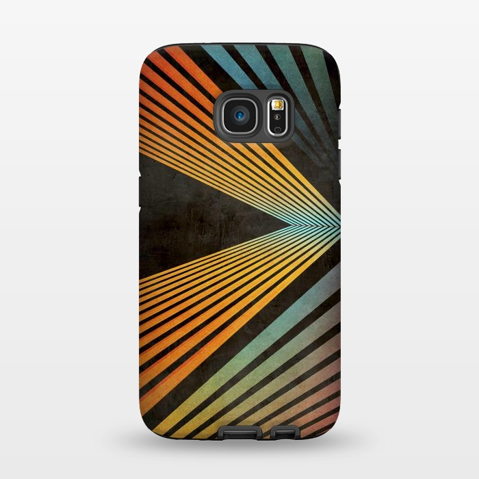 AC1345462, Phone Cases, Galaxy S7, StrongFit, Diego Tirigall, CRAZY RANIBOW 2, Designers,