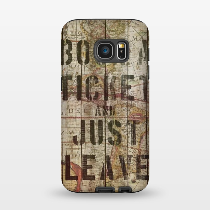 AC1345465, Phone Cases, Galaxy S7, StrongFit, Diego Tirigall, BOOK A TICKET, Designers,