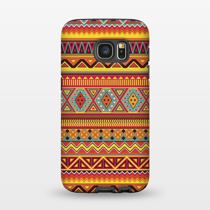 AC1345467, Phone Cases, Galaxy S7, StrongFit, Diego Tirigall, AZTEC PATTERN, Designers,