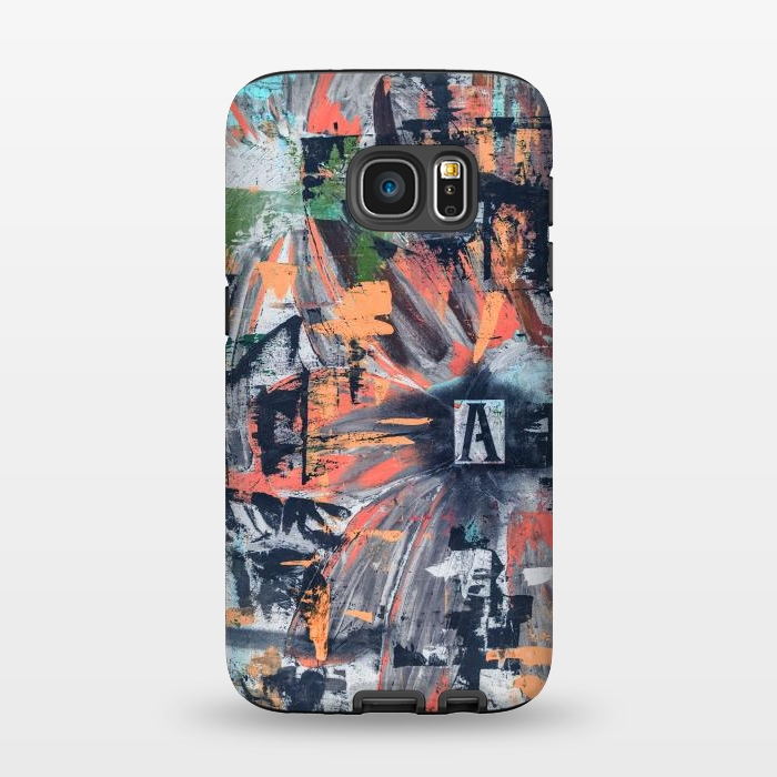 AC1345480, Phone Cases, Galaxy S7, StrongFit, Bruce Stanfield, Floral Inversion, Designers,