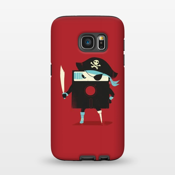 AC1345494, Phone Cases, Galaxy S7, StrongFit, Jay Fleck, Software Pirate, Designers,