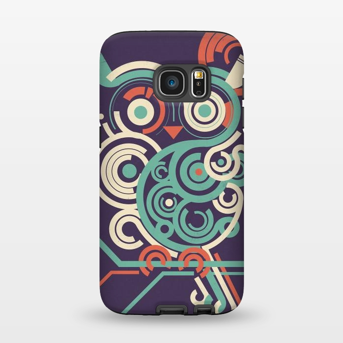 AC1345495, Phone Cases, Galaxy S7, StrongFit, Jay Fleck, Owl2pointO, Designers,