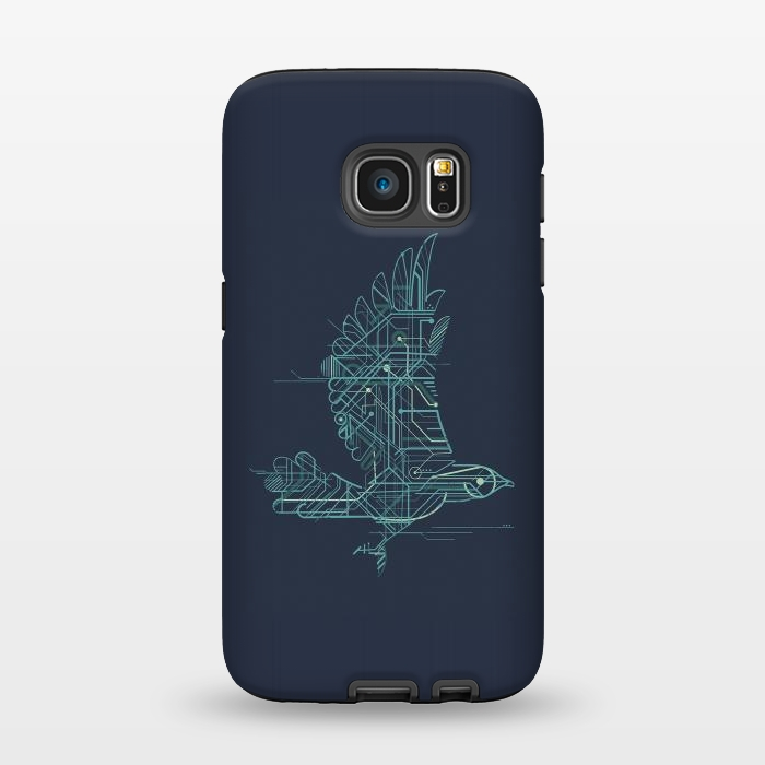 AC1345496, Phone Cases, Galaxy S7, StrongFit, Jay Fleck, Wind Up Bird, Designers,