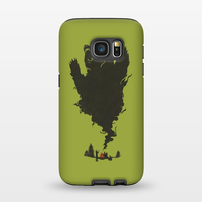 AC1345497, Phone Cases, Galaxy S7, StrongFit, Jay Fleck, And there was Firein its Eyes, Designers,