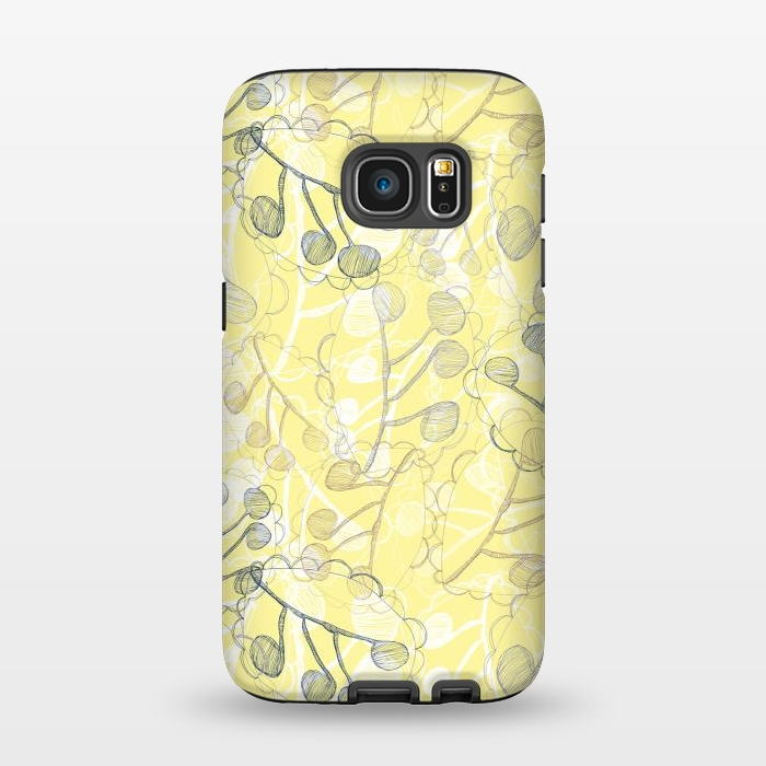 AC1345502, Phone Cases, Galaxy S7, StrongFit, Rachael Taylor, Ghost Leaves, Designers,