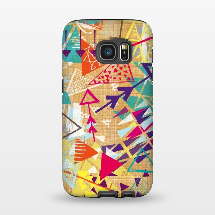 AC1345551, Phone Cases, Galaxy S7, StrongFit, Rachael Taylor, Tribal Arrows, Designers,