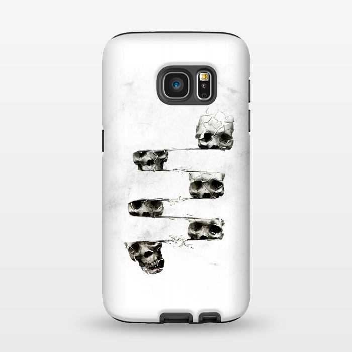 AC1345561, Phone Cases, Galaxy S7, StrongFit, Ali Gulec, Skull 3, Designers,
