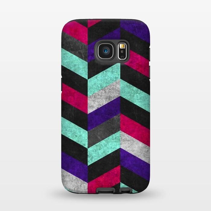 AC1345632, Phone Cases, Galaxy S7, StrongFit, Diego Tirigall, GEOMETRIC MUNDO B, Designers,