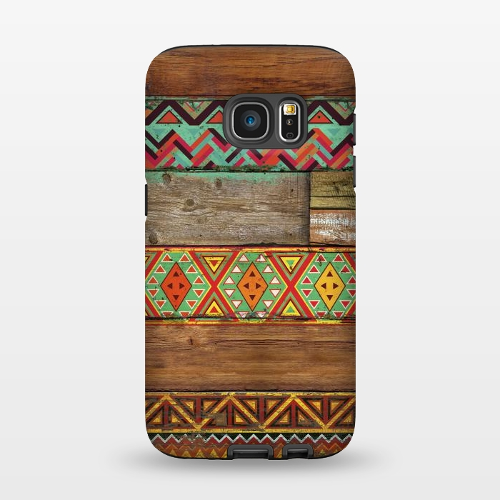AC1345633, Phone Cases, Galaxy S7, StrongFit, Diego Tirigall, INDIAN WOOD, Designers,