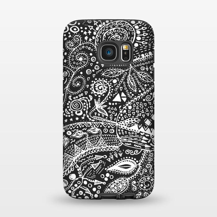 AC1345933, Phone Cases, Galaxy S7, StrongFit, Eleaxart, B&W Hand made, Designers,