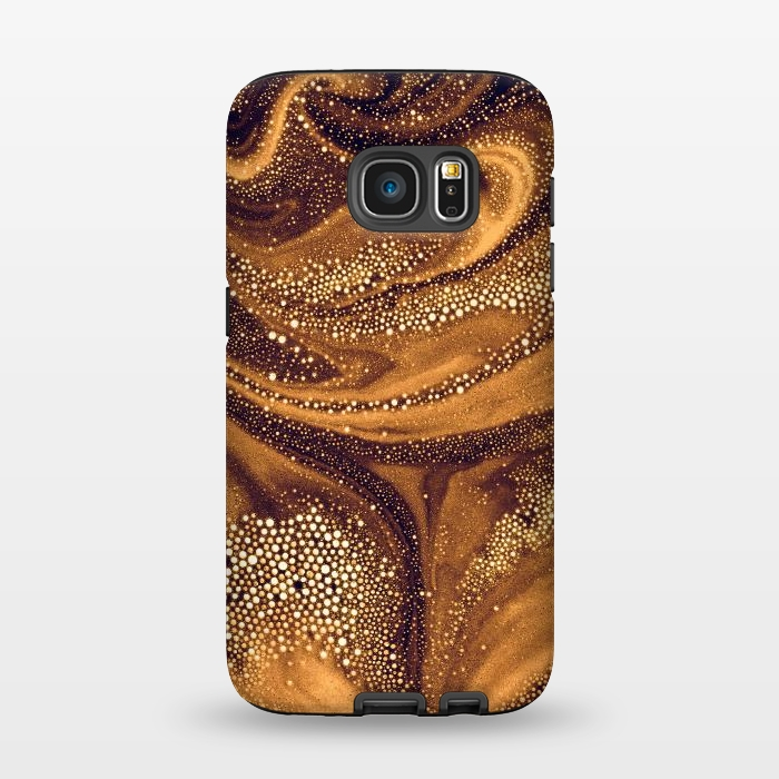 AC1345939, Phone Cases, Galaxy S7, StrongFit, Eleaxart, Molten Core, Designers,