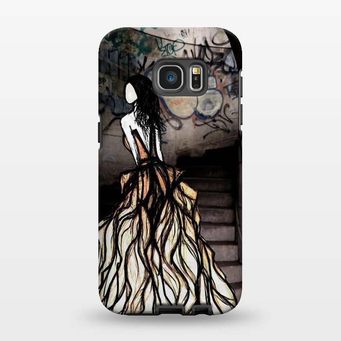 AC134611, Phone Cases, Galaxy S7 EDGE, StrongFit, Amy Smith, Escape, Designers,