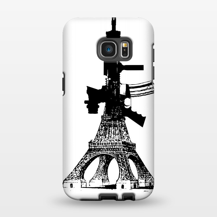 AC1346142, Phone Cases, Galaxy S7 EDGE, StrongFit, Brandon Combs, Eiffel Power, Designers,