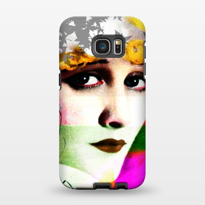 AC1346145, Phone Cases, Galaxy S7 EDGE, StrongFit, Brandon Combs, Miss Moon, Designers,