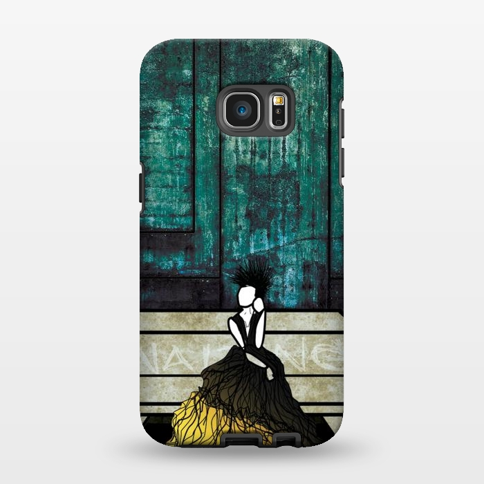 AC134615, Phone Cases, Galaxy S7 EDGE, StrongFit, Amy Smith, Waiting, Designers,