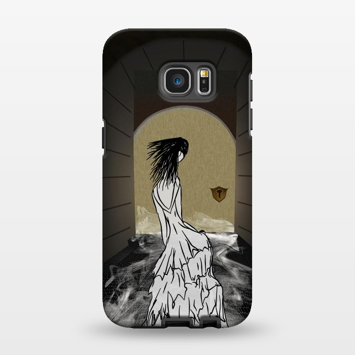 AC134616, Phone Cases, Galaxy S7 EDGE, StrongFit, Amy Smith, Ghost in the Hallway, Designers,