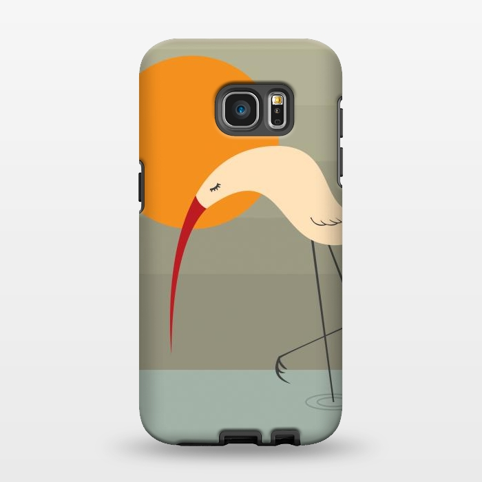 AC1346161, Phone Cases, Galaxy S7 EDGE, StrongFit, Volkan Dalyan, Bird, Designers,