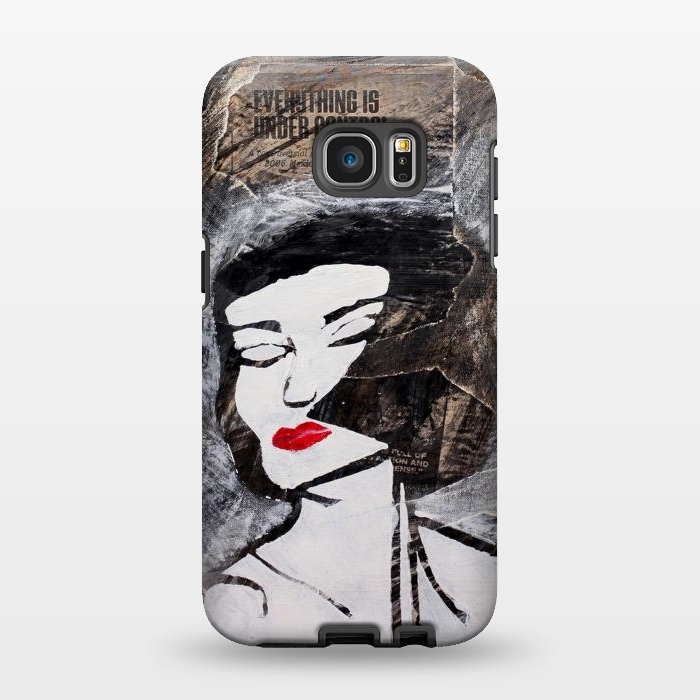 AC134617, Phone Cases, Galaxy S7 EDGE, StrongFit, Amy Smith, Under Control, Designers,