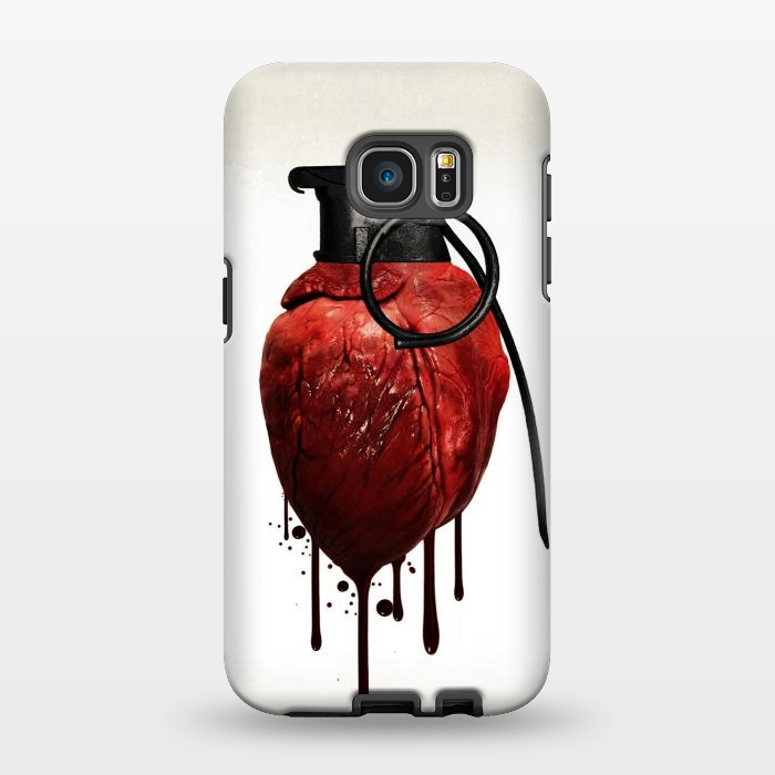 AC1346185, Phone Cases, Galaxy S7 EDGE, StrongFit, Nicklas Gustafsson, Heart Grenade, Designers,