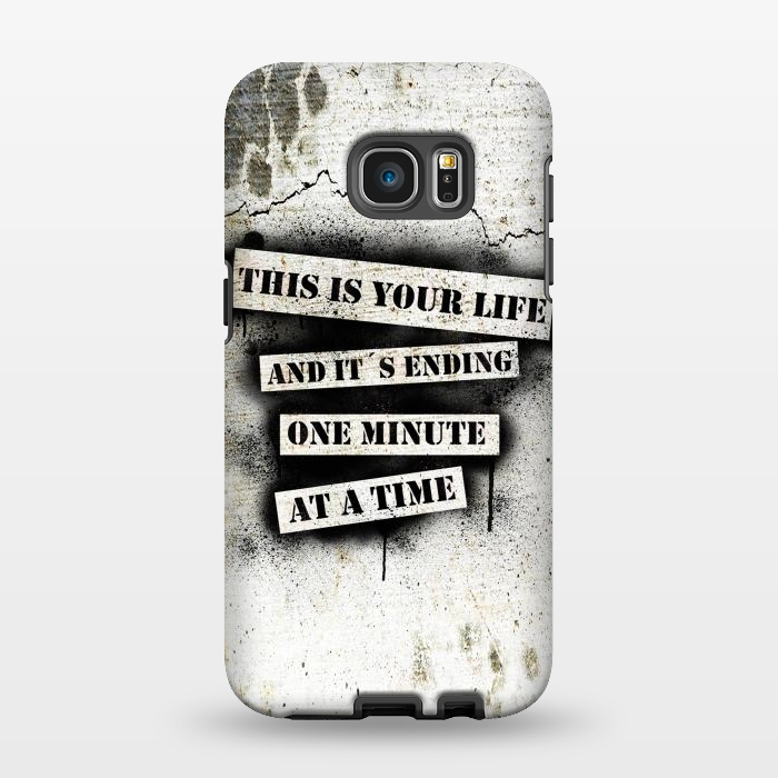 AC1346188, Phone Cases, Galaxy S7 EDGE, StrongFit, Nicklas Gustafsson, This is your life, Designers,
