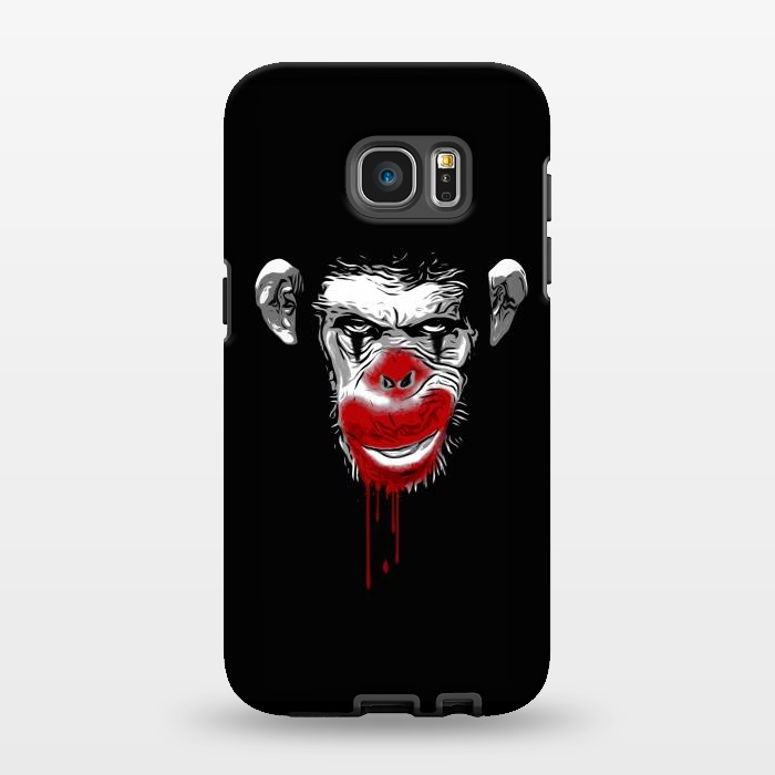 AC1346190, Phone Cases, Galaxy S7 EDGE, StrongFit, Nicklas Gustafsson, Evil Monkey Clown, Designers,