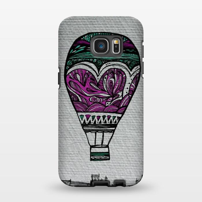 AC1346201, Phone Cases, Galaxy S7 EDGE, StrongFit, Maria Teresa Canepa, Llevame Lejos, Designers,