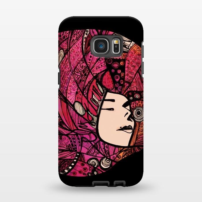 AC1346203, Phone Cases, Galaxy S7 EDGE, StrongFit, Maria Teresa Canepa, Ely Guerra, Designers,