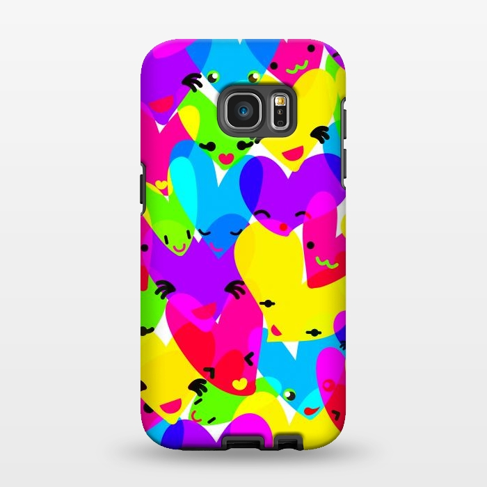 AC1346230, Phone Cases, Galaxy S7 EDGE, StrongFit, MaJoBV, Sweet Hearts, Designers,