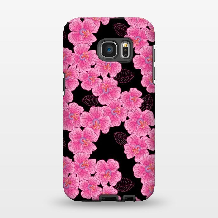 AC1346251, Phone Cases, Galaxy S7 EDGE, StrongFit, Julia Grifol, Pinkon Black, Designers,