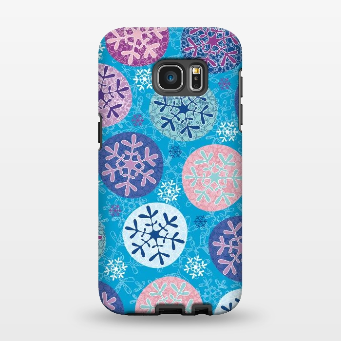 AC1346256, Phone Cases, Galaxy S7 EDGE, StrongFit, Julia Grifol, Floral Wintel, Designers,
