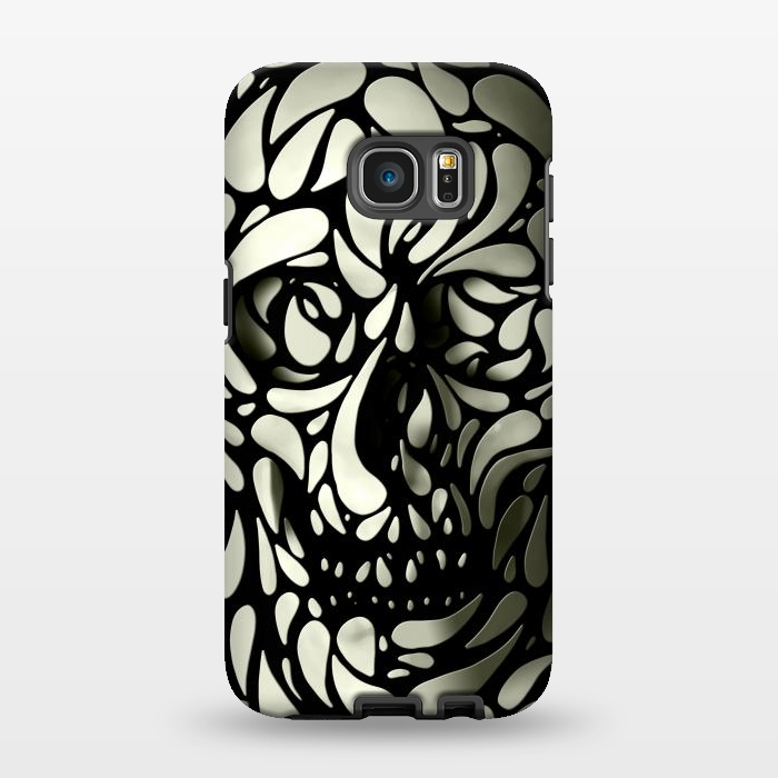 AC1346275, Phone Cases, Galaxy S7 EDGE, StrongFit, Ali Gulec, Skull 4, Designers,