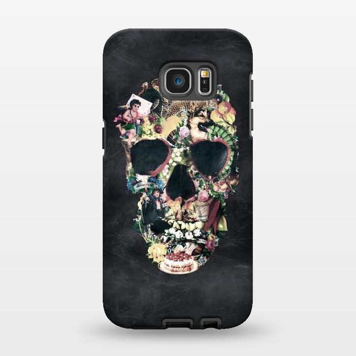 AC1346276, Phone Cases, Galaxy S7 EDGE, StrongFit, Ali Gulec, Vintage Skull, Designers,