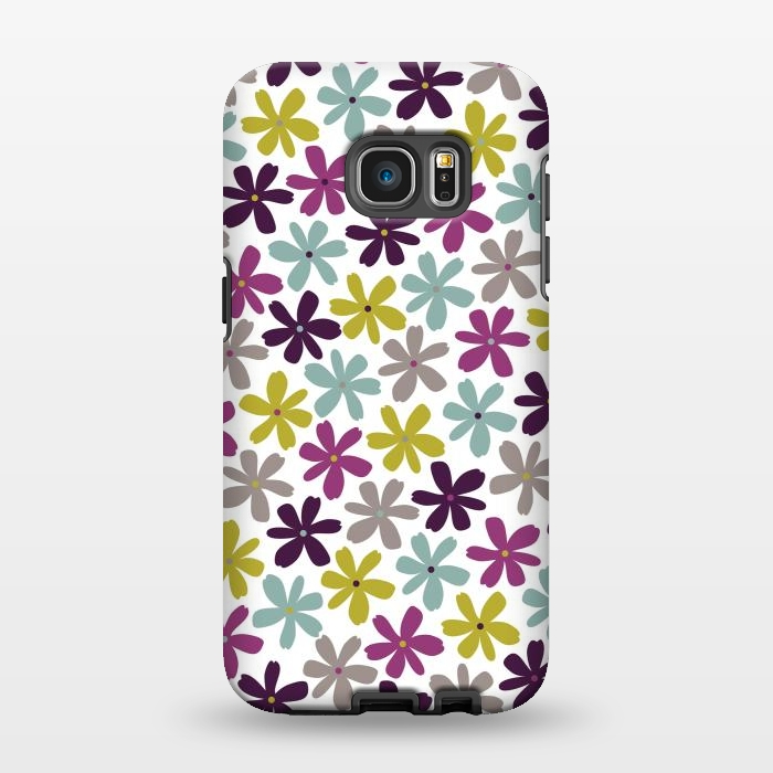 AC1346280, Phone Cases, Galaxy S7 EDGE, StrongFit, Rosie Simons, Allium Ditsy, Designers,