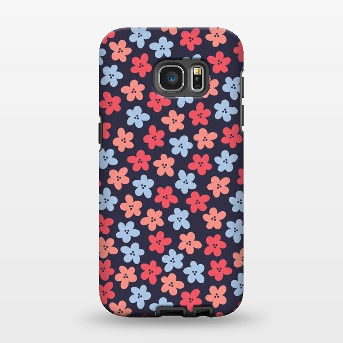 AC1346285, Phone Cases, Galaxy S7 EDGE, StrongFit, Rosie Simons, Amelia Ditsy, Designers,