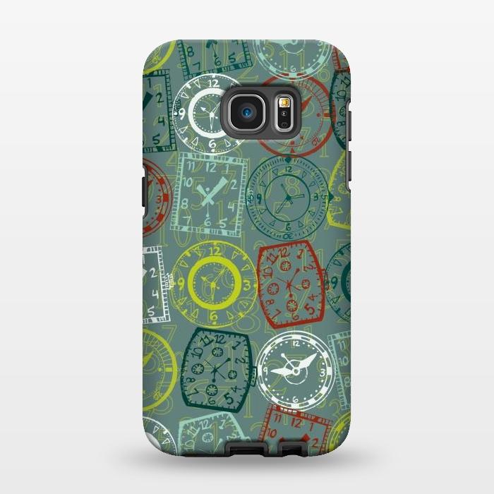 AC1346314, Phone Cases, Galaxy S7 EDGE, StrongFit, Julie Hamilton, Vintage Watch, Designers,