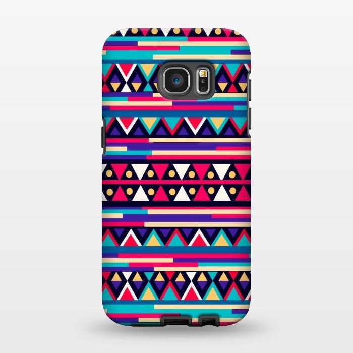 AC1346333, Phone Cases, Galaxy S7 EDGE, StrongFit, Nika Martinez, Tribal Aztec, Designers,