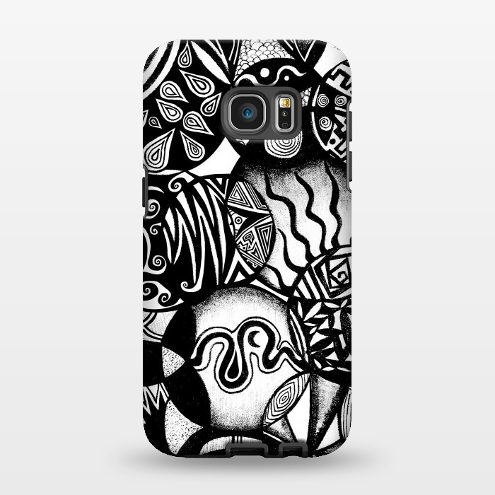 AC1346383, Phone Cases, Galaxy S7 EDGE, StrongFit, Pom Graphic Design, Circles and Life, Designers,