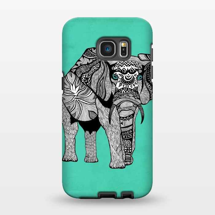 AC1346387, Phone Cases, Galaxy S7 EDGE, StrongFit, Pom Graphic Design, Elephant of Namibia, Designers,