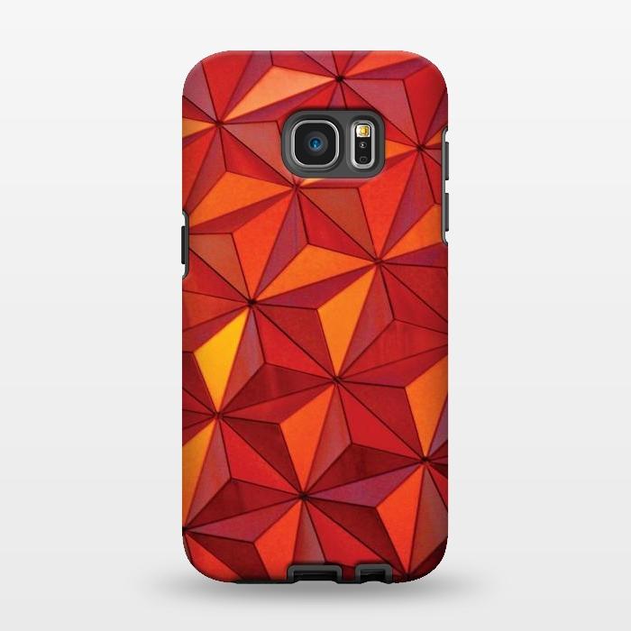 AC1346397, Phone Cases, Galaxy S7 EDGE, StrongFit, Josie Steinfort , Geometric Epcot, Designers,