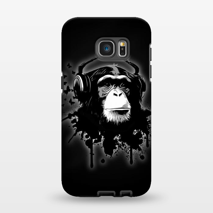 AC1346421, Phone Cases, Galaxy S7 EDGE, StrongFit, Nicklas Gustafsson, Monkey business Black, Designers,