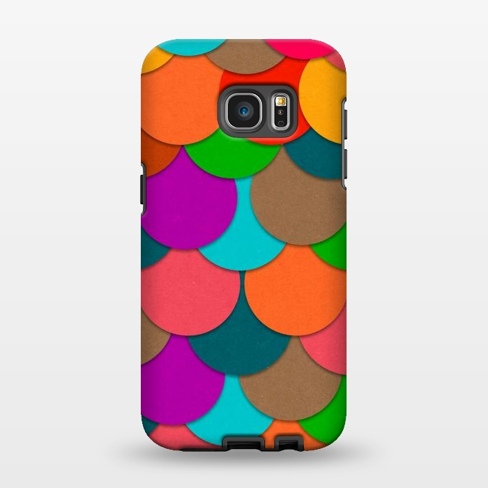 AC1346444, Phone Cases, Galaxy S7 EDGE, StrongFit, Eleaxart, Circles, Designers,