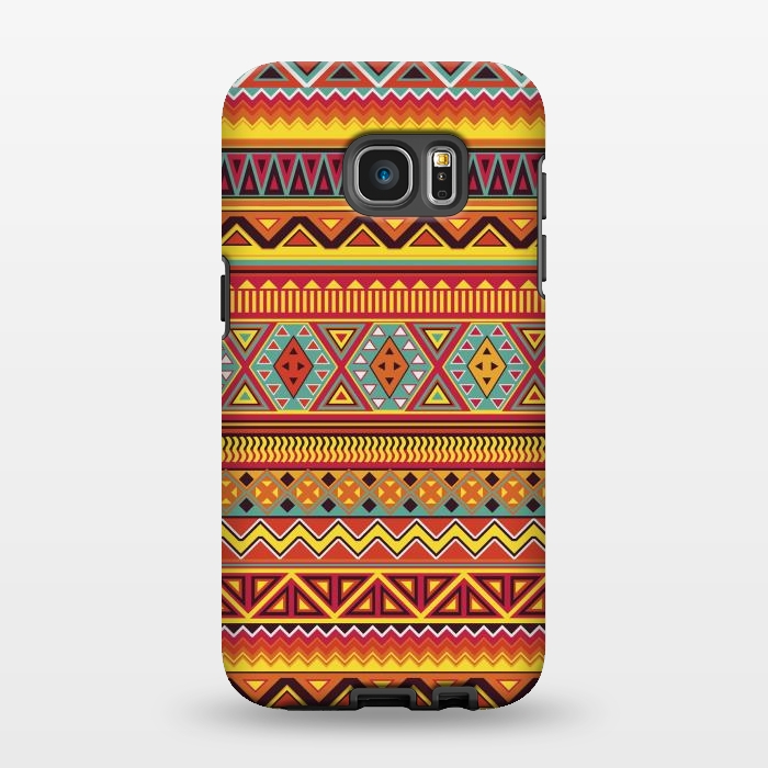 AC1346467, Phone Cases, Galaxy S7 EDGE, StrongFit, Diego Tirigall, AZTEC PATTERN, Designers,