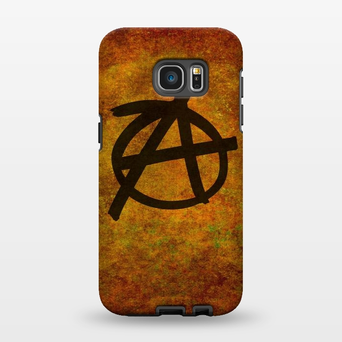 AC1346481, Phone Cases, Galaxy S7 EDGE, StrongFit, Bruce Stanfield, Anarchy Red, Designers,
