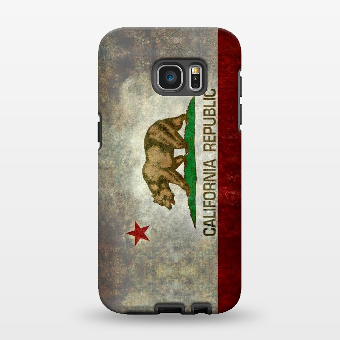 AC1346482, Phone Cases, Galaxy S7 EDGE, StrongFit, Bruce Stanfield, California Republic State, Designers,